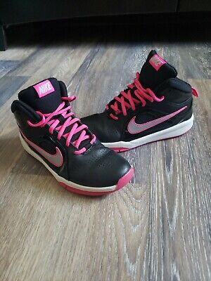 Nike Youth Girl Shoes Sneakers Size 5Y Black Basketball