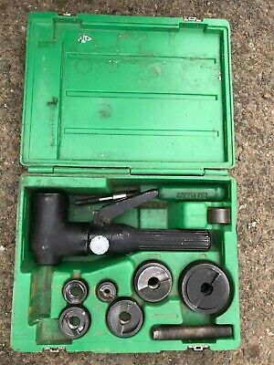 Greenlee Hydraulic Punch Driver Set 7806 Sb