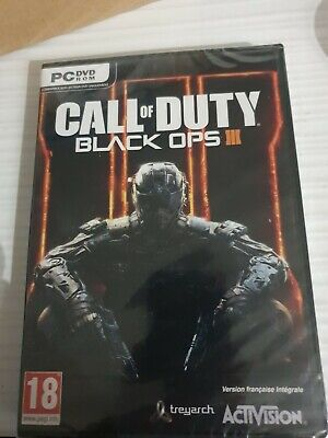 CALL of DUTY Black Ops 3 PC _ VERS FRANCAISE _ NEUF...