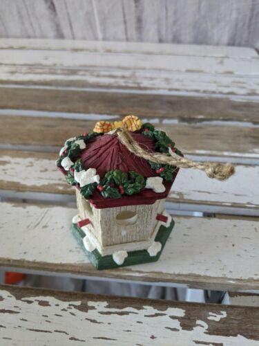 Dept 56 birdhouse ornament Xmas holiday tree