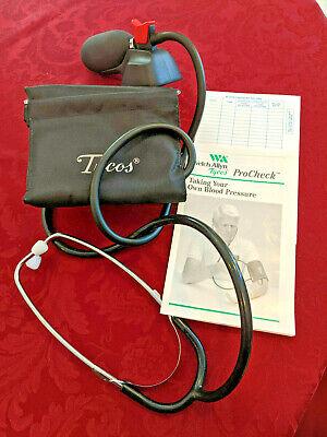 Blood Pressure Cuff -tycos Hand Held Adult Aneroid Sphygmomanometer 5098-75