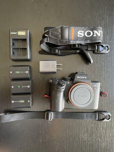 Sony A7 III 24.2 MP Mirrorless Digital Camera - Black Body Only  - $1,650.00