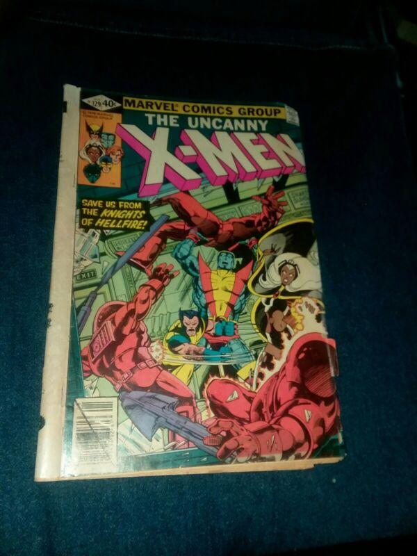 Uncanny X-Men #129 marvel comics 1979 1st Kitty Pryde Emma Frost john byrne art