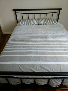 Queen bed - mattress and frame Jindalee Brisbane South West Preview