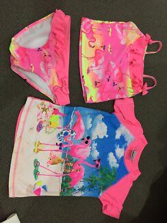 3 piece swimwear size 5.
