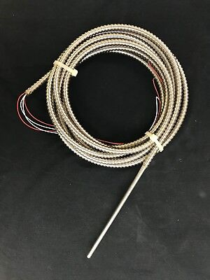 Weed Rtd Model 101- 4 Wire 100ohm Platinum Armored Sheath- New