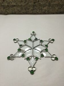 Stain Glass Snowflake