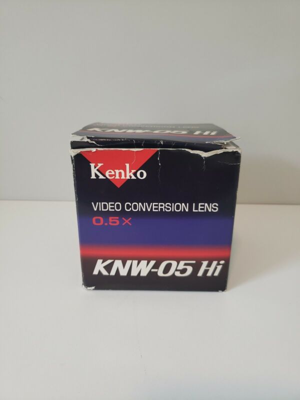 Kenko KNW-05 Hi 0.5x Video Conversion Lens Fit Lens Front 52mm made in Japan