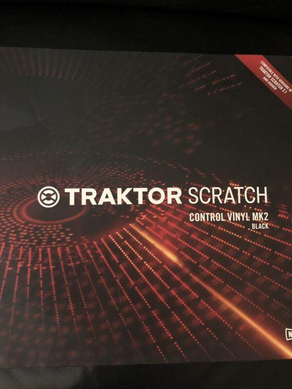 Native Instruments Traktor Scratch Control Vinyl MK2 Black