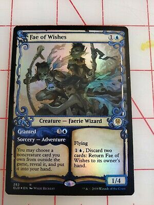 MTG CARDS SINGLES - 1X FAE OF WISHES - THRONE OF ELDRAINE SHOWCASE - FOIL - NM/M