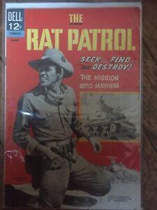 Dell Comic.  'The Rat Patrol'