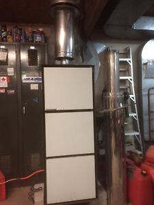 Mobile home oil furnace