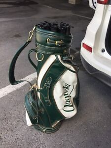 Augusta Leather Golf Bag
