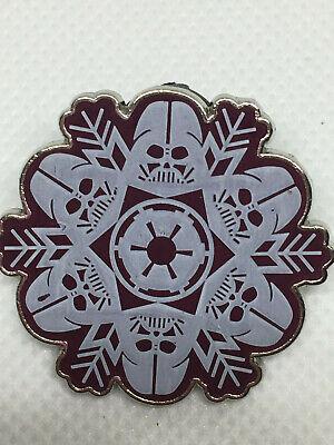 Disney Pin - Star Wars Snowflake Darth Vader- Additional pins SHIP FREE