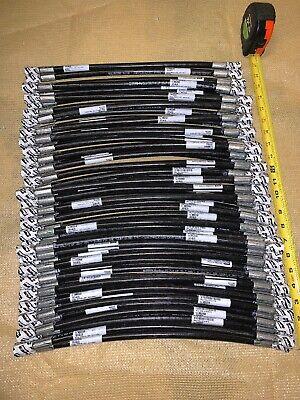 53 Qty Huge Lot Parker Hydraulic Hose 17 L X 14 3000psi Parflex 8802068