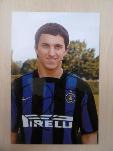 """Nicolas Burdisso """"Inter"""" Autogramm signed 10x15 cm Bild"""