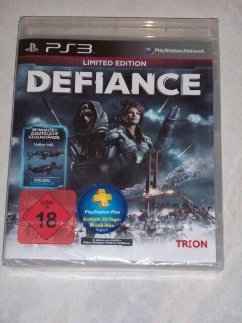 Defiance Limited Edition - Playstation PS3 - deutsch - Neu / OVP