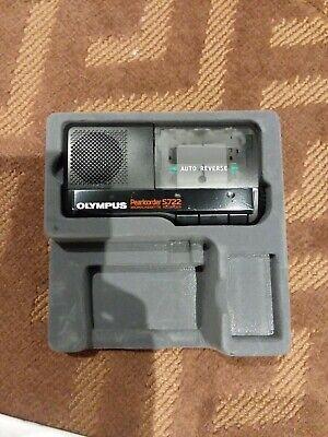 Olympus Pearlcorder S722 Microcassette Black Vintage