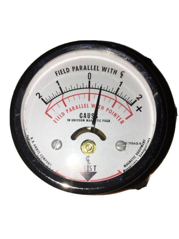 R.B. Annis pocket magnetometer