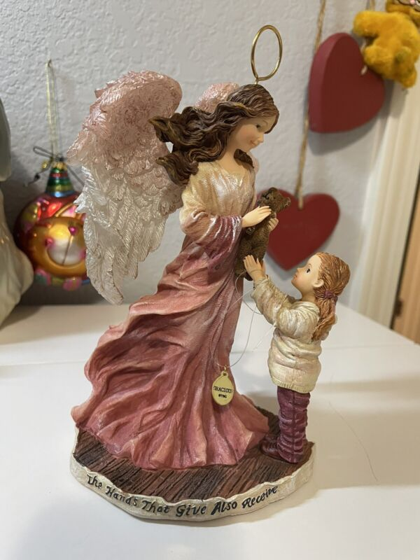 boyds Bears charming angels collection charity Guardian Of Good Deeds