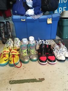 Multiple Youth Basketball Sneakers For Sale