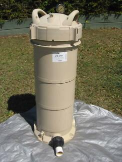 Pool Filter and Salt Chlorinator PoolCon ZX250 Cartridge Filter