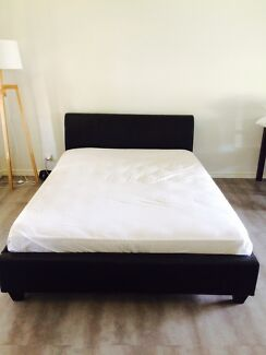 QUEEN SIZE BED WITH MATTRESS Payneham Norwood Area Preview