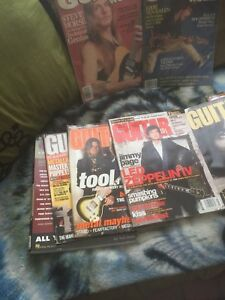 Guitar world magazines
