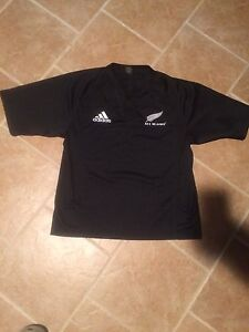 Adidas New Zealand All Blacks rugby jersey men's L