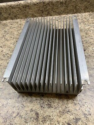 Very Large Aluminum Heat Sink-- Measures Approx 13 X 9 X 3. 10 Lbs