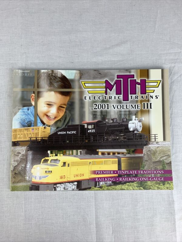 Vintage MTH Rail King O Toy Train Catalog Volume lll 2000 Volume 2