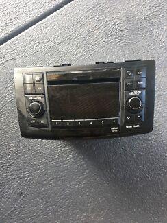 2012 Suzuki swift car radio