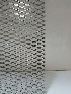 12--16. 304 Stainless Steel Flattened Expanded Metal  18 X 17-14