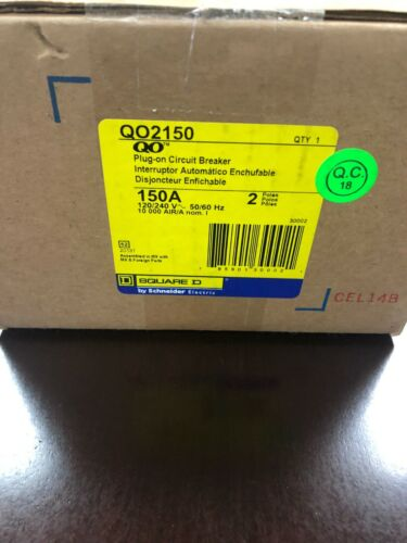SQUARE D BY SCHNEIDER ELECTRIC QO2150    (BRAND NEW)