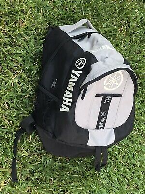 yamaha genuine parts and accessories motorcycle powersports backpack euc