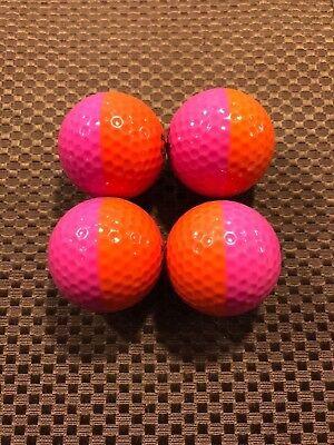 PING GOLF BALL/S-(1) ORANGE/PINK PING EYE2 #10...NO LOGO...8.5/10 OR (Best Orange Golf Balls)