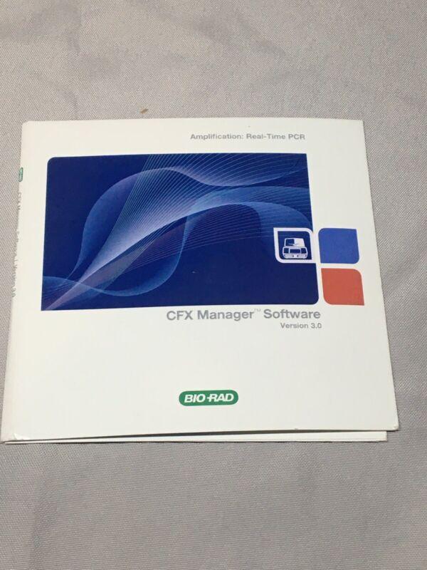 Bio-Rad CFX Manager Software V 3.0 for PCR