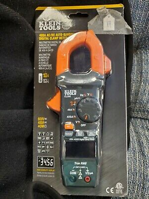 Klein Tools Cl390 Digital Clamp Meter Auto Ranging 400 Amp 14