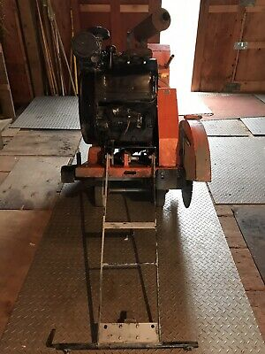 Norton Clipper Walk Behind Concrete Saw Self Propelled 26 Guard - Blade Include