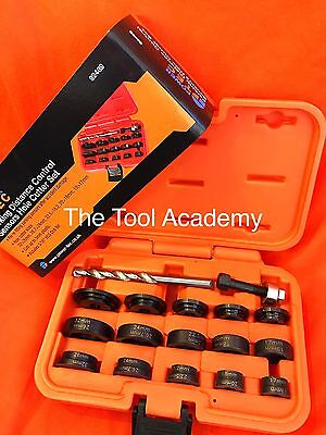 Parking Sensor Distance Control Hole Cutter Tool Set 17mm - 32mm With Drill Bit