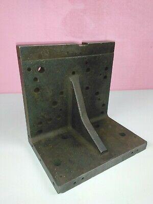 Large Machinist Angle Knee Fixture Block 10 X 10 X 7 Milling Drill Press 46 Lbs