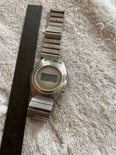 Vintage Microma Digital Watch