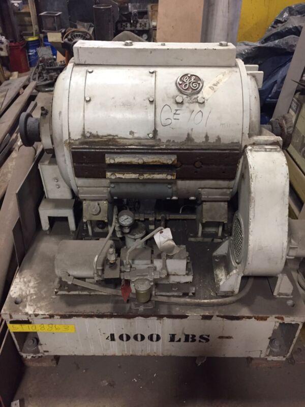 USED GE DC Dynamometer 6300/9500 RPM 430/456VDC