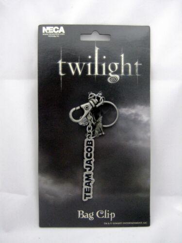 NEW Twilight Saga Team Jacob Bagclip Keychain Merchandise Valentine