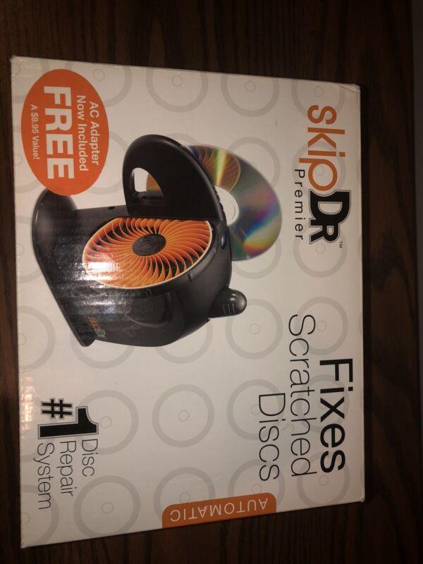 SkipDr Premier Motorized AutoMax Disc CD DVD  Repair System - open box