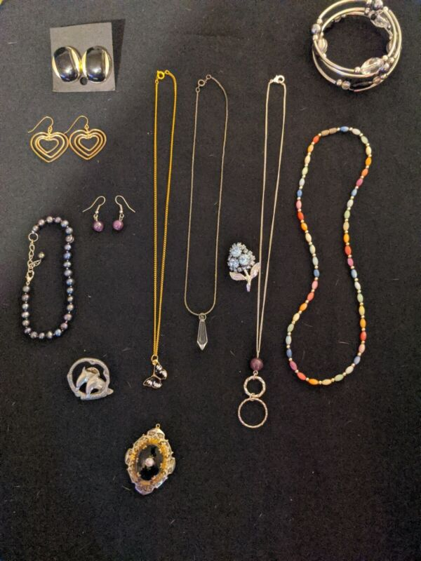 Lot #598.   Wear or Resell ESTATE Jewelry, Mixed Variety. Signed/Unsigned.