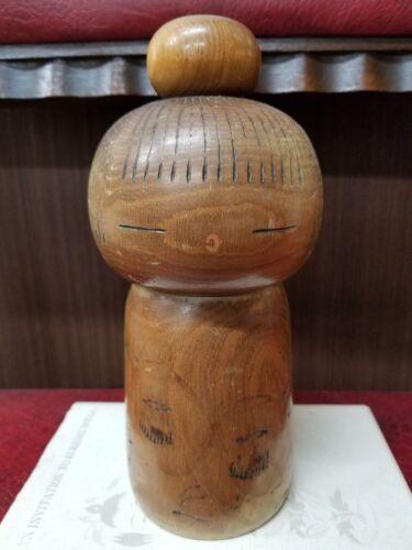 Early Work by TAKAMIZAWA Kazuo 20cm Sosaku Kokeshi Japanese Doll /S1