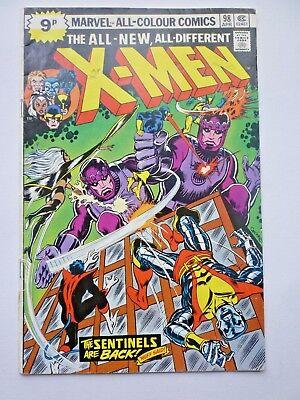 Uncanny X-Men 98 First Sentinels Mk III 1976