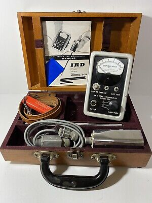 Ird Sound Vibration Meter 305 With Boxmanual Tested- Works