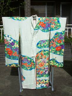 1930s Furisode silk Kimono from Kyoto worn by unmarried Women Mount Melville Albany Area Preview